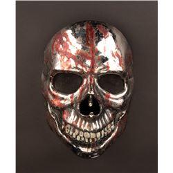 Nick Principe 'ChromeSkull' killer mask and hero cell phone from Chromeskull: Laid to Rest 2.