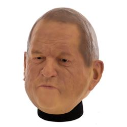 Extraordinary Harvey Weinstein screen used latex mask from Showtime's SMILF.