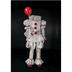 Bill Skarsgård signature screen worn 'Pennywise' complete costume ensemble from It.