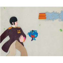 'Paul' and 'Blue Meanie' production cels from Yellow Submarine.
