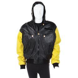 Backstreet Boys autographed leather World Tour jacket.