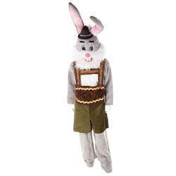 Alpine rabbit costumes from Roseanne: Season 8, Episode 19 'Springtime for David'.