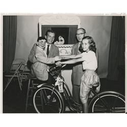 Ted Knight's (25) personal photographs of his early kid's variety show and broadcasting career.
