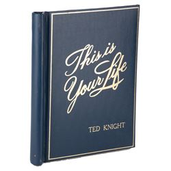 Ted Knight (6) personal scripts from various TV shows.