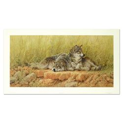 End Of Summer - Gray Wolves by Fanning (1938-2014)
