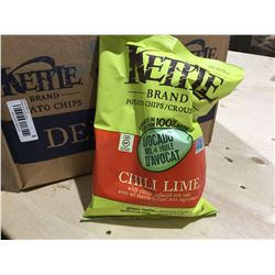 Kettle Brand Chili Lime Potato Chips (12 x 170g)