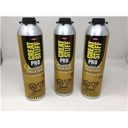 Great Stuff Pro Polyurethane (3 x 751g)