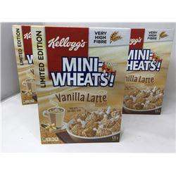 Kellogg's Mini-Wheats Vanilla Latte (3 x 439g)