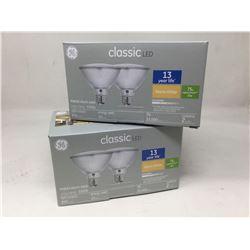 GE Classic LED (2 x 2 x 75W)