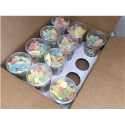 Lot of Huer Super Mix Candy Cups