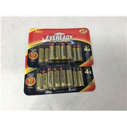 Eveready Batteries (12 x 2 x AA)