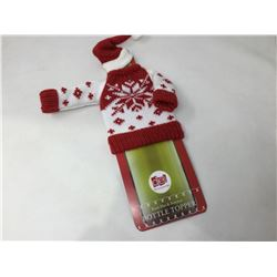 Knit Hat & Sweater Bottle Topper