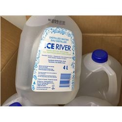 Ice River Distilled Water (4 x 4L)