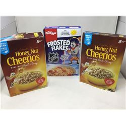 Lot of Assorted Cereal