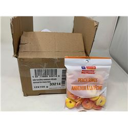 Case of Circle K Peach Rings (12 x 155g)