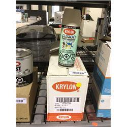Case of Krylon Fusion for Plastic Aerosol Spray (6 x 340g)