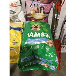 Iams Large Breed Chicken and Whole Grains Recipe Dog Food (22.7kg)