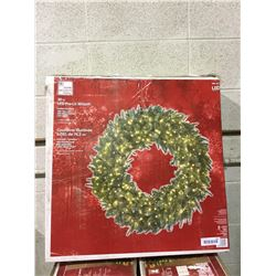 """Home Accents Holiday 30"""" LED Pre-Lit Wreath"""