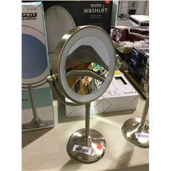 Enhance Rechargeable LED Vanity Mirror (Retailer Return)