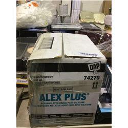Case of Alex Plus Acrylic Latex Caulk Plus Silicone (30 x 300mL)