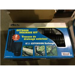 Mole Pipe Outdoor Drainage Kit