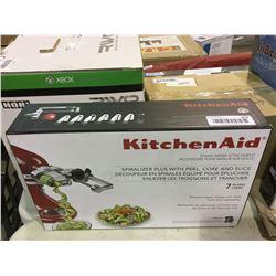 Kitchen Aid Stand Mixer Spiralizer Attachment
