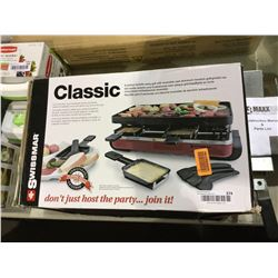 Swissmar Classic 8-Person Raclette Party Grill