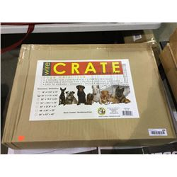 """Pampered Pal 2-Door Wire Crate Cage (24"""" x 17.3"""" x 20"""")"""