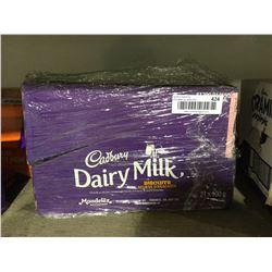 Case of Cadbury Dairy Milk Biscuits