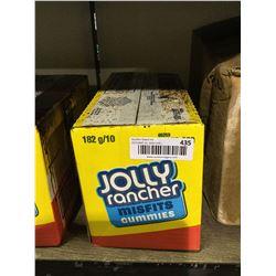 Case of Jolly Rancher Misfits Gummies (10 x 182g)