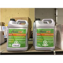 Race Pro Antifreeze Coolant 50/50 (3.78L) Lot of 4
