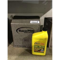 Case of Race Pro SAE 5W-20 Motor Oil (6 x 946mL)