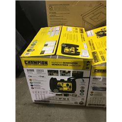 Champion 3100 Starting Watt Inverter Generator