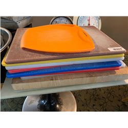 Lot of 8 commercialcutting boards