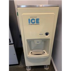 Hoshizaki self service ice dispenser. BUYER MUST PROFESSIONALLY CAP ALL DISCONNECTIONS
