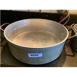 Large Commercial Aluminum Shallow stock pot
