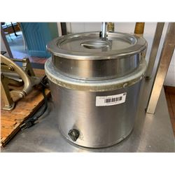 Soup Warmer with insert and ladel