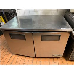 True Model TUC 48 4 ft stainless refrigerated prep counter