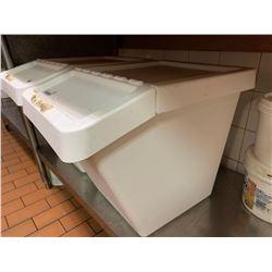 Large Plastic Flour Bin Storage