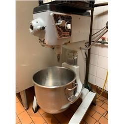Blakeslee Model F-30-CA 30 quart mixer with bowl, attachments, chopper, etc