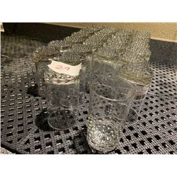 Lot of 29 highball glasses