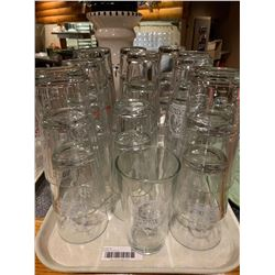 Lot of approx 20 Cravel Beer Glasses