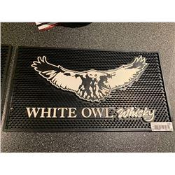 White Owl Whisky Pour Mat