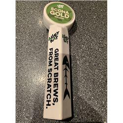 Beer Tap Handle - Scona Gold