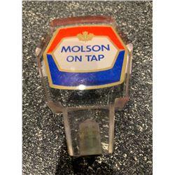 Beer Tap Handle -Vintage Molson