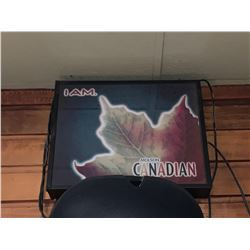 Bar Mounted Sign BUYER MUST REMOVE -I am Canadian