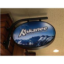 Bar Mounted Sign BUYER MUST REMOVE -Kokanee
