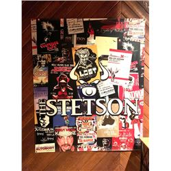 Stetson Heavy Metal Bands commemorative