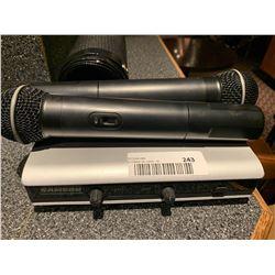 Samson Cordless Microphones
