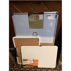 Lot of 3 NEW dry erase/cork boards